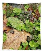Wet Leaves Tapestry