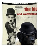 Wetterhoun-frisian Water Dog Art Canvas Print - The Kid Movie Poster Tapestry