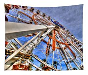 Wharf Wheel Tapestry