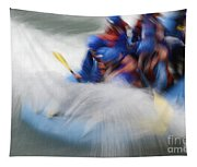 White Water Rafting What A Rush Tapestry