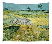 Wheatfields Near Auvers-sur-oise Tapestry