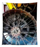 Wheels Tapestry