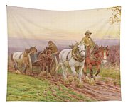 When The Days Work Is Done Tapestry