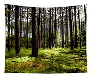 When The Forest Beckons Tapestry