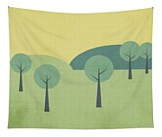 Whimsical Forest Tapestry