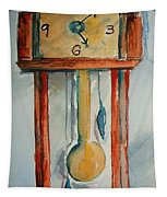 Whimsical Time Piece Tapestry