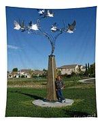 Whirlybird Tapestry