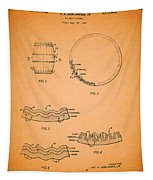 Whiskey Barrel Patent Tapestry