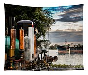 Whistles And Ship Tapestry