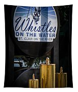 Whistles On The Water Tapestry