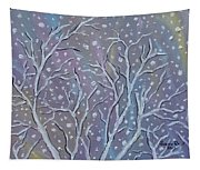 White Branches Tapestry