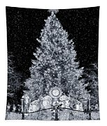 White Christmas In Texas Tapestry