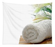 White Cotton Towel Tapestry