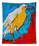 White Crow Tapestry