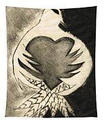 White Dove Art - Comfort - By Sharon Cummings Tapestry