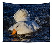 White Duck 3 Tapestry