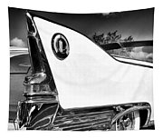 White Fin Bw Palm Springs Tapestry