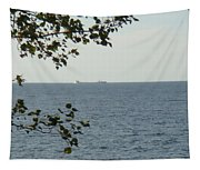 White Freighter Tapestry
