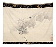 White Herons Tapestry