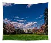 White House Lawn In Spring Tapestry