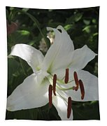 White Lily Tapestry