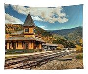 White Mountans Crawford Train Depot Tapestry