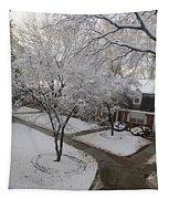 White Neighbourhood Tapestry