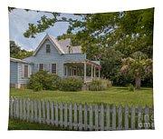 White Pickett Fence Tapestry