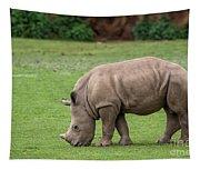 White Rhino 12 Tapestry