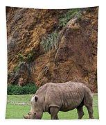 White Rhino 13 Tapestry