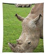 White Rhino 15 Tapestry