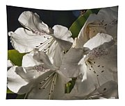 White Rhododendron B Tapestry