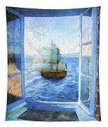 White Sails Tapestry