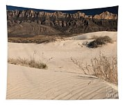 White Sand Below Tapestry