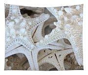 White Starfish Tapestry