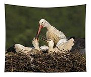 White Stork Tapestry