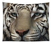 White Tiger - Up Close And Personal Tapestry