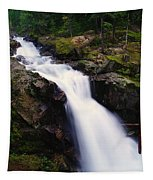 White Water Falling  Tapestry