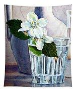 White White Jasmine  Tapestry