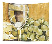 White Wine And Cheese Tapestry