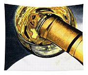 White Wine Art - Lap Of Luxury - By Sharon Cummings Tapestry