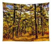 Whitebog Village Woods In New Jersey  Tapestry