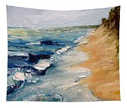 Whitecaps On Lake Michigan 3.0 Tapestry