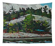 Whitefish River Cottages Tapestry