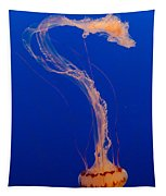 Who What Where When Purple Striped Jelly 1 Tapestry