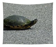 Why Did The Turtle Cross The Road Tapestry