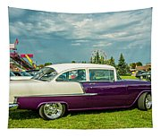 Wicked 1955 Chevy Profile Tapestry