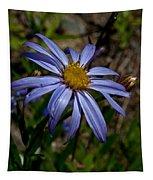 Wild Aster Flower Tapestry
