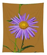 Wild Blue Aster Tapestry