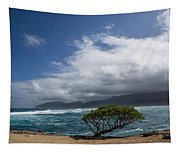 Wild Coast - Laie Point - North Shore - Hawaii Tapestry